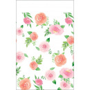 Mantel Papel Floral para Bebe 137 x 259 cm