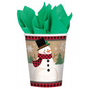 8 cups Winter Wonderland paper 266 ml