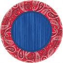 8 plate bandana & blue jeans 26,7 cm
