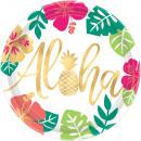 8 assiette Aloha papier 26 cm