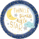 8 Tányér Twinkle Little Star 27 cm