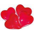 4 balony lateksowe Lovely Moments czerwone 30 cm