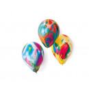 8 Latexballons Marmorballons sortiert 18 cm/7'