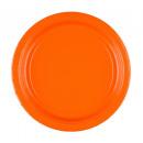 20 Tányér papír narancs 22,8 cm