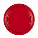 20 Tányér papír alma piros 22,8 cm