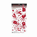 wholesale Wall Tattoos: 23 Wall Decals Sticker Bloody Hand Prints & Tr