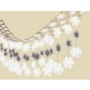 Ceiling decoration Let it Snow foil 365 x 30.5 cm