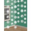 6 deco-hanger snowflake 210 cm