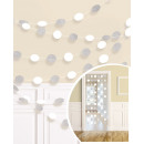 wholesale Gifts & Stationery: 6 deco hangers glitter white 213 cm