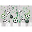 12 decorative spirals Goal Getter