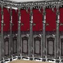 2 Scene-Setter Dekorollen Gothic Mansion Plastik 1
