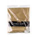 Bordure de table en plastique or 426 x 73 cm