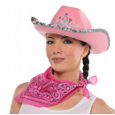 Großhandel Tücher & Schals:Halstuch Cowgirl pink