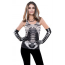 Großhandel Shirts & Tops:Damen-Tank-Top Skelett