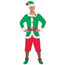 Férfi jelmez Elf Plus