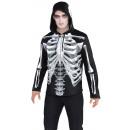wholesale Pullover & Sweatshirts: Men's Hoodie Black & Bone One size