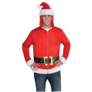 Großhandel Pullover & Sweatshirts: Hoodie Weihnachtsmann Einheitsgröße