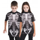 Kids Shirt Black & Bone 8-10years