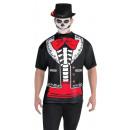 Großhandel Shirts & Tops: T-Shirt Day of the Dead Größe XL
