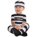 Child Costume Lil'Law Breaker 6-12 months