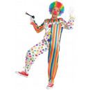 Child Costume Clown one piece 8-10 years