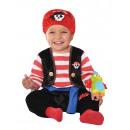 grossiste Jouets: Costume Enfant Bébé Bucaneer 0-6 mois