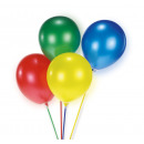 15 balloon assorted made of plastic assorted