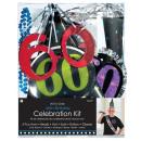 Fél készlet 6 darab 60. születésnapja