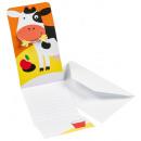 8 Custom Invitations Farm Fun