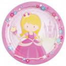 Großhandel Haushaltswaren: 8 Teller My Princess 23 cm