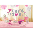 Glitzerbanner Bride To Be Hen Night 2016