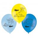 6 latex ballonok találja Dorie 22,8 cm / 9 '