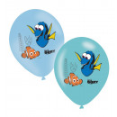 6 latex balloons Finding Dorie 4-color 27,5cm / 11