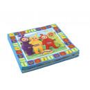 wholesale Party Items: 16 napkins Teletubbies 33 x 33 cm