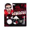 Vampire de maquillage d'Halloween