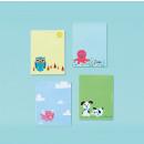 4 cuadernos, surtido