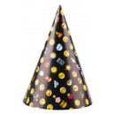 8 party hats Smiley emoticons