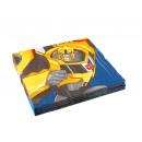 Großhandel Partyartikel: 20 Servietten Transformers RID 33 x 33 cm