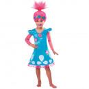 Großhandel Spielwaren: Kinderkostüm Trolls Poppy 7-8 Jahre