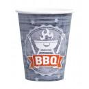nagyker Ajándékok és papíráruk: 8 csésze BBQ Party 250 ml