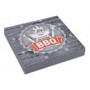 nagyker Ajándékok és papíráruk: 20 szalvéta BBQ party 33 x 33 cm