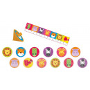 Party gifts set jungle animals 24 pieces
