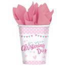 8 csésze Rózsaszín kréta 266ml