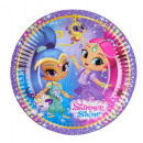 8 plate shimmer and shine, 18 cm