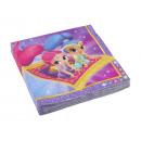 Großhandel Partyartikel: 20 Servietten Shimmer & Shine 33 x 33 cm