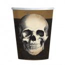 10 Becher Boneyard Papier 250 ml