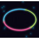 ingrosso Gioielli & Orologi: 4 collane glow stick tricolore 20cm