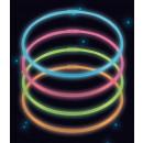 wholesale Necklaces: 4 Glow Necklaces Assorted Colors 56cm