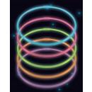 wholesale Necklaces: 10 Glow Necklaces Assorted Colors 56cm