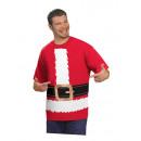 Großhandel Shirts & Tops: T-Shirt Weihnachtsmotiv Einheitsgröße